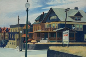 Edward Hopper East Wind Over Weehawken, 1934 Estimate: $22-28 million