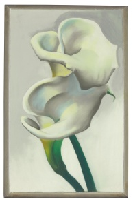 Georgia O'Keeffe Two Calla Lilies Together 1923