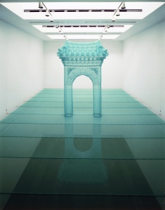 DO HO SUH Reflection, 2013  Nylon and stainless steel tube