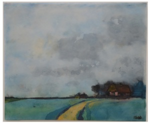 EMIL NOLDE Homestead in the Marsh, undated