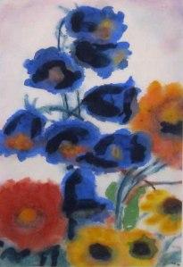EMIL NOLDE Garden Flowers, no date