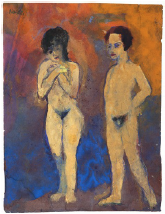 EMIL NOLDE Nudes, Man and Woman, 1938-45
