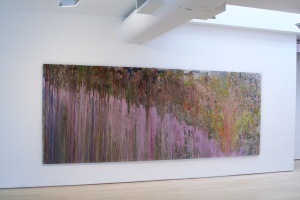 Larry Poons Installation view of Tantrum in Throw, Pour, Spill, Splash