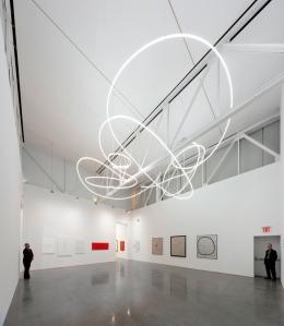 Lucio Fontana: Ambienti Spaziale Gagosian Gallery, 2012