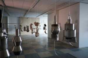 Roger Hiorns Studio installation