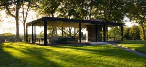 Philip Johnson's The Glass House, New Canaan, CT