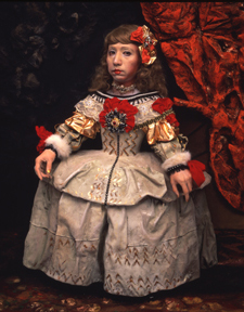 Yasumasa Morimura Daughter of Art History (Princess A), 1990 Color photograph Edition of 5 38 1/4 x 45 1/2 inches