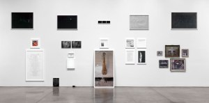 Exhibition view of Sophie Calle: Absence 2013