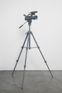 Tom Friedman, Untitled (Video Camera), 2012 Wood and paint 63 1/2 x 44 1/2 x 44 1/2 inches