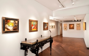 Installation view, Max Weber: Revisiting Still Life April 8 to May 3, 2012