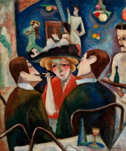 Max Weber Joel's Cafe, ca. 1909-10 Oil on canvas 22 x 27 inches