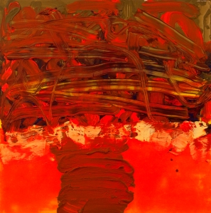 Frank Wimberley Snare, 2012 Acrylic on canvas 50 x 50 inches