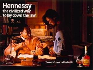 Jeff Koons Hennessey ad