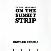 Every Building on the Sunset Strip Edward  Ruscha