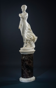 THOMAS RIDGEWAY GOULD The West Wind, 1875 Marble