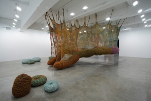 Ernesto Neto SLOW IIS GOOOD Gallery Installation  April 14 - May 25, 2012