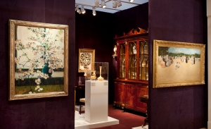 Hirschl and Adler at the Winter Antiques Show