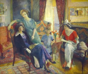 Willliam Glackens Family Group