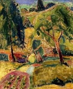 Alfred Maurer Autumn 3