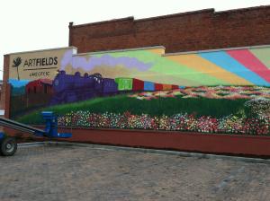 Artfields 2014 Community Mural