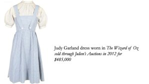 Garland Dress from Wizard of Oz Courtesy of Laura Wooley, AAA (The Collector's Lab)