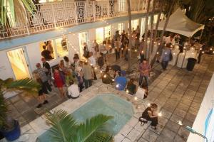 MIAMI, FL - DECEMBER Aqua Art Miami 25th Anniversary VIP Preview on December 3, 2014