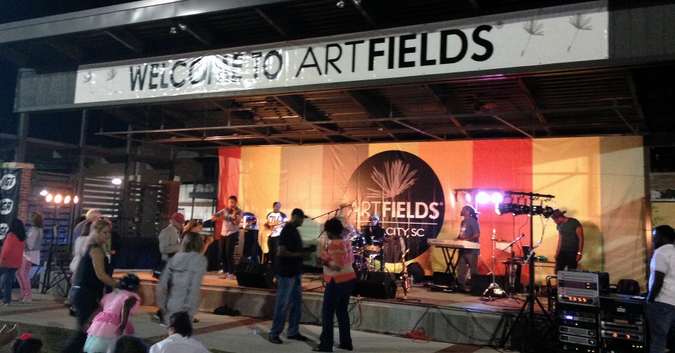 ARTFIELDS 2015 Lake City South Carolina