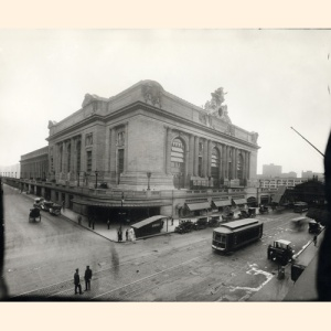 Grand Central Terminal opens February 2, 1913