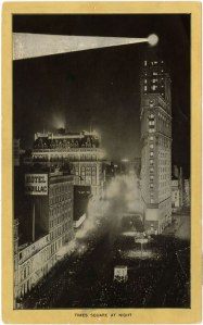 Times Square at Night 1913