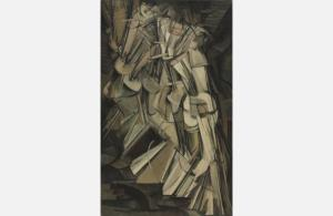 Nude Descending A Staircase, No. 2 Marcel Duchamp