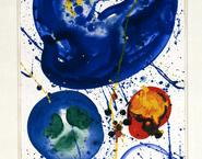 Sam Francis Blue Series 1960