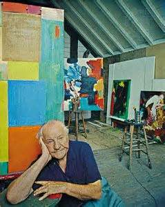 Hans Hofmann In his Studio