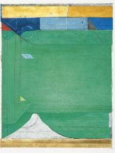 RICHARD DIEBENKORN Green, 1986 etching, aquatint and drypoint in colors