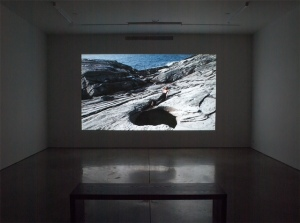 Mariam Ghani Like Water from a Stone, 2014 Installation view Image courtesy of the artist and RYAN LEE, New York.