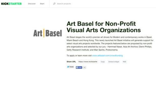 ArtBasel-Kickstarter