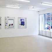 Melissa Gordon: Memetic Pleasures, 2014 BOESKY EAST, New York Photo credit: Jason Wyche
