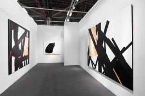 Installation view: The Armory Show 2014, Barricade I, August 7 - September 12, 2014 Marianne Boesky Gallery Booth, New York, New York