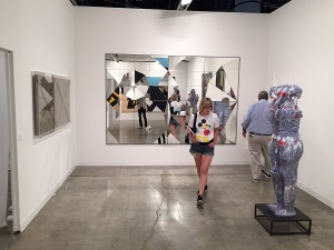 Marianne Boesky Gallery booth Miami Art Basel December 2015