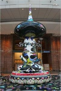 Takashi Murakami Mr. Pointy Brooklyn Museum