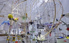 "Sarah Sze ""Triple Point"" 55th Venice Biennale U.S. Pavilion"