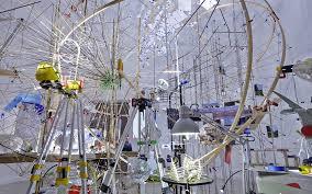 """Sarah Sze """"Triple Point"""" 55th Venice Biennale U.S. Pavilion"""