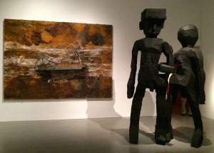 ONE WAY: PETER MARINO Bass Museum of Art, FL Anselm Kiefer and George Baselitz