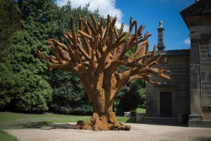 AI WEIWEI Iron Tree, 2013 Courtesy Yorkshire Sculpture Park Photo Credit: Jonty Wilde