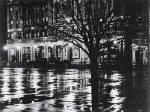 Alfred Stieglitz Reflections - Night (New York), 1897 Gelatin silver print Museum of Fine Arts, Boston