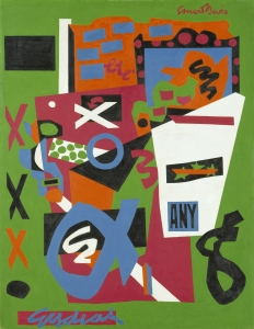 Stuart Davis (1892–1964), Semé, 1953. Oil on canvas, 52 × 40 in. The Metropolitan Museum of Art