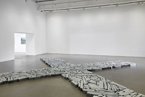 Richard Long Installation view, 2015 'TIME AND SPACE' Arnolfini, Bristol