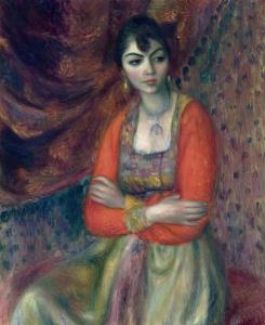 William James Glackens The Armenian Girl Oil on canvas The Barnes Foundation Philadelphia and Merion, PA