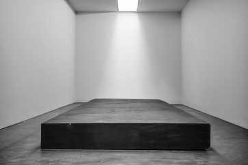 RICHARD SERRA ABOVE BELOW BETWIXT BETWEEN, EVERY WHICH WAY, SILENCE (FOR JOHN CAGE), THROUGH MAY 7 - JULY 29, 2016