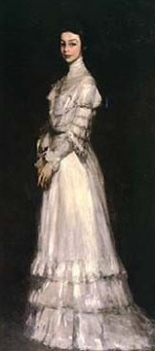 Robert Henri's portrait of Edith Dimock Glackens