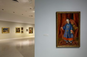 Installation view of Glackens exhibition Nova Southeastern University's Museum of Art Fort Lauderdale Photograph by Steven Brooke